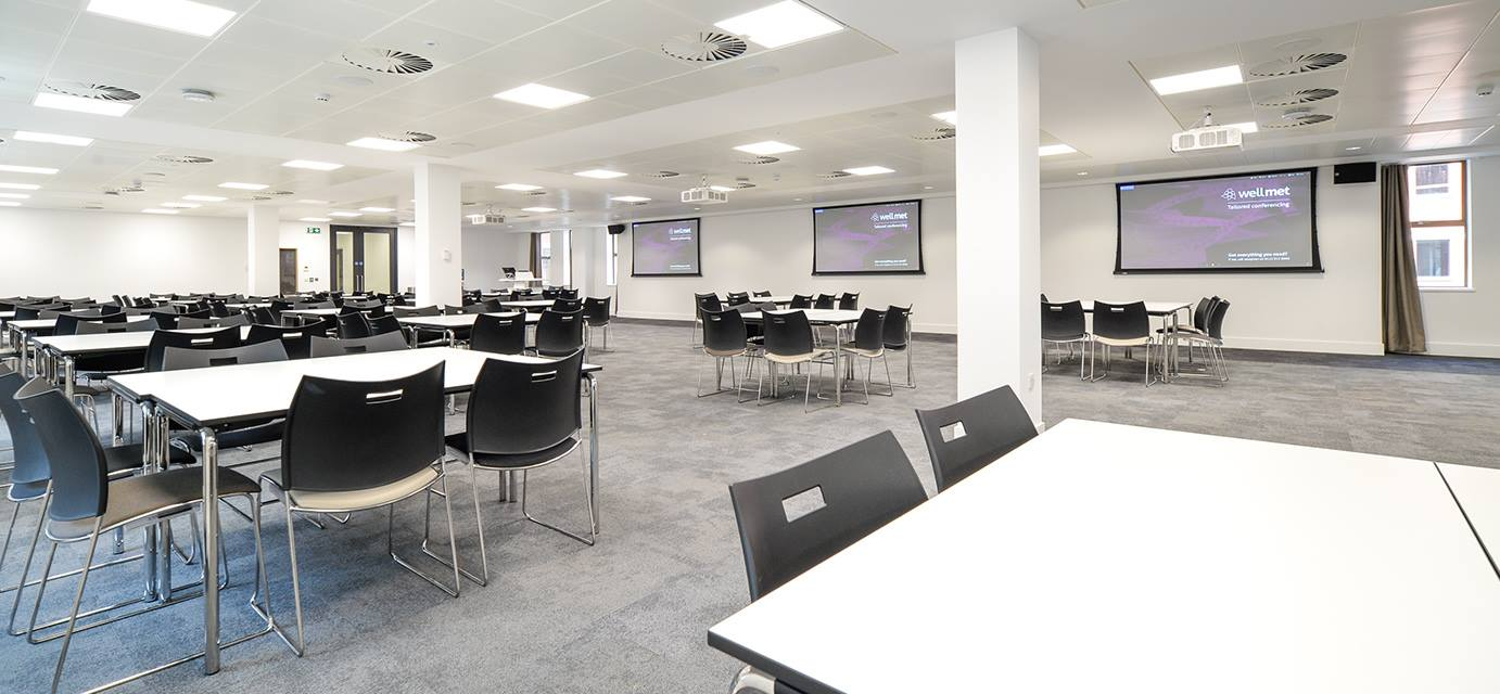 Seminar space for up to 200