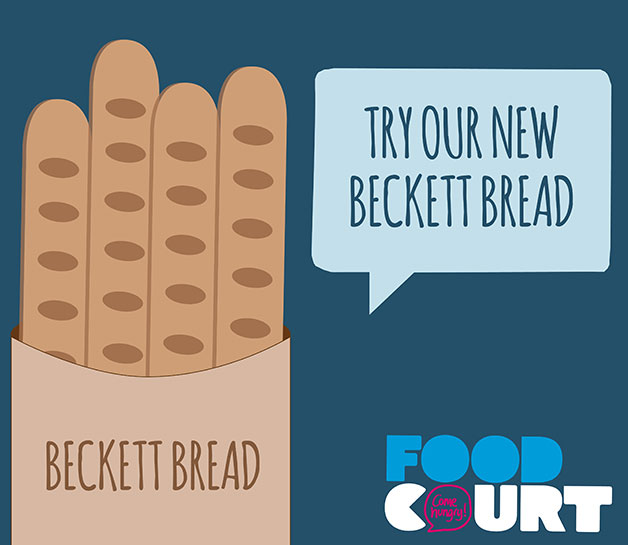 Try our new Beckett Bread