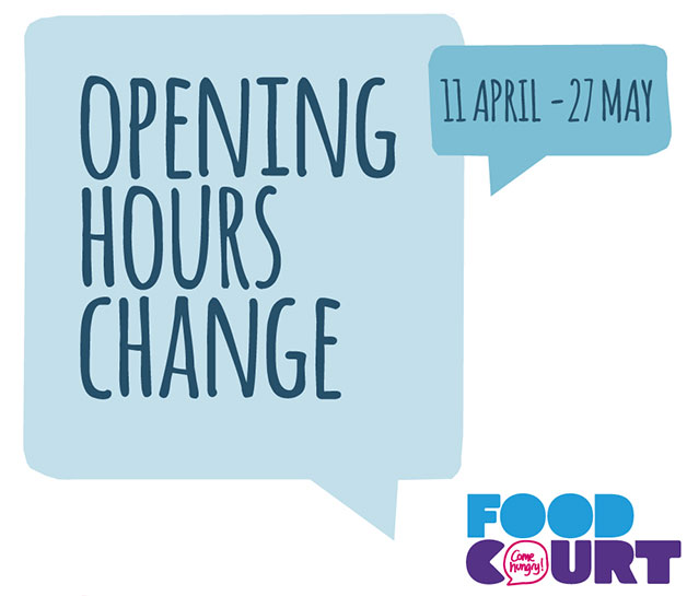 Opening Hours Change