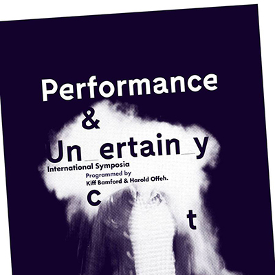 performance & uncertainty book cover