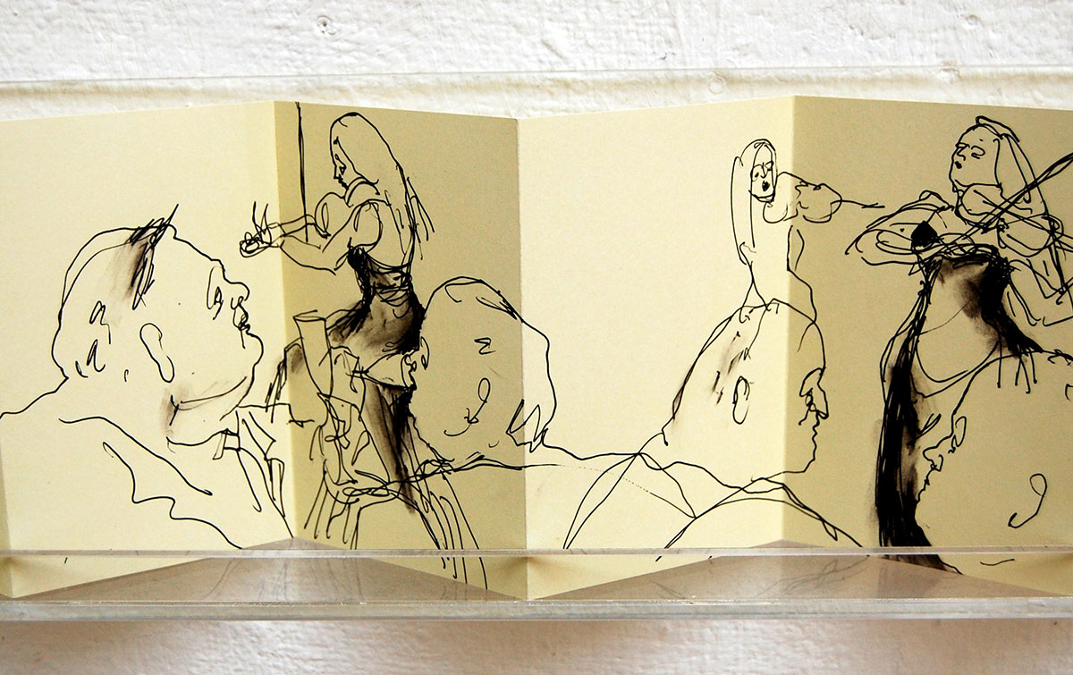 Sketchbook Installation