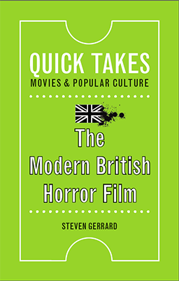 the modern british horror film book cover
