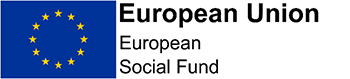 European Union: European Social Fund project logo