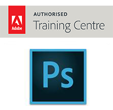AUTHORISED TRAINING CENTRE Adobe PhotoShop logo