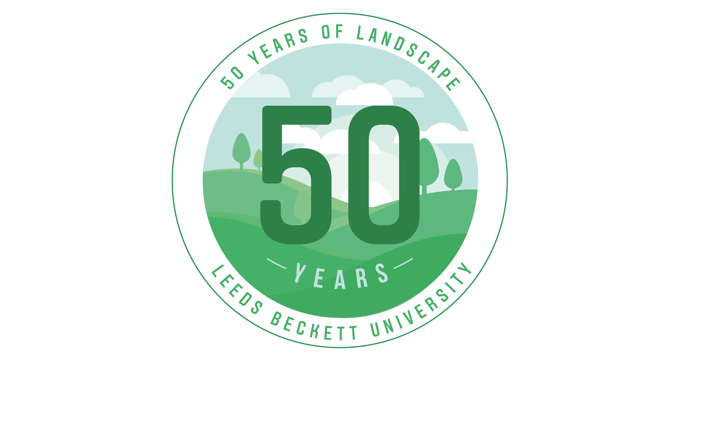 Landscape at 50 Logo