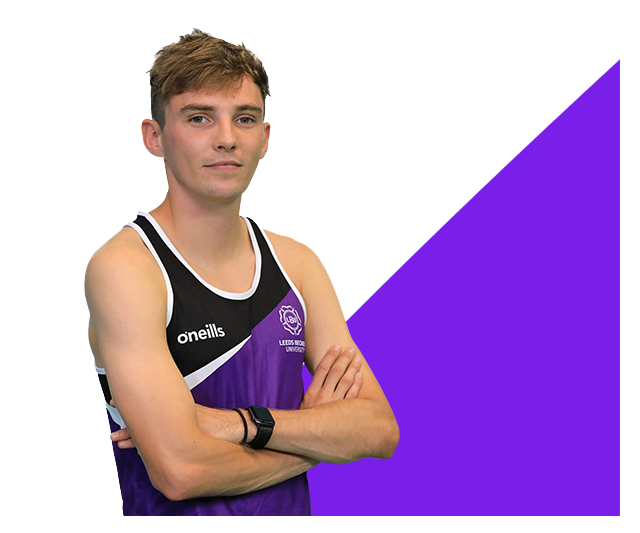 Athletics student Andy Smith