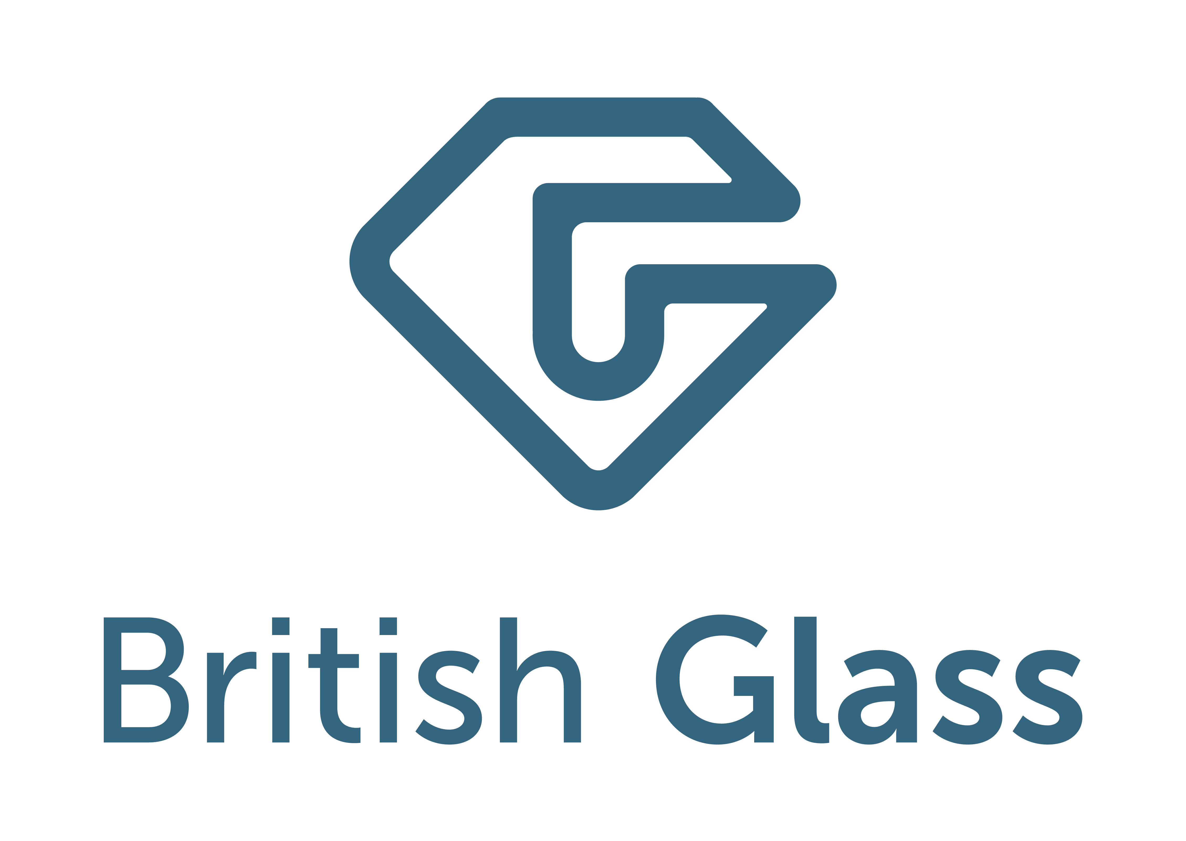 British Glass Logo