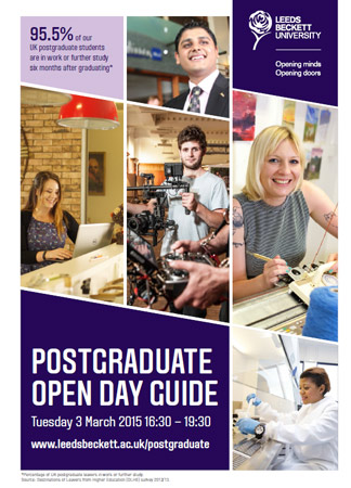 Postgraduate Open Day Guide