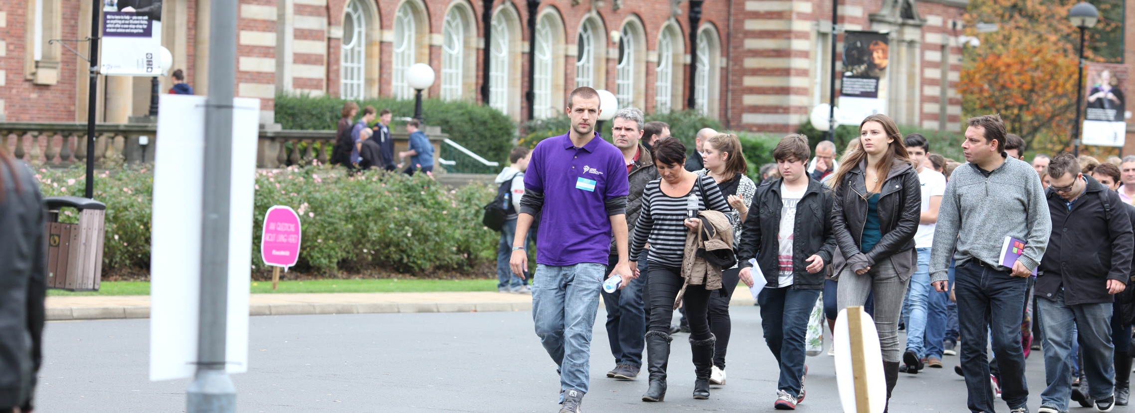 Campus tour and online open days